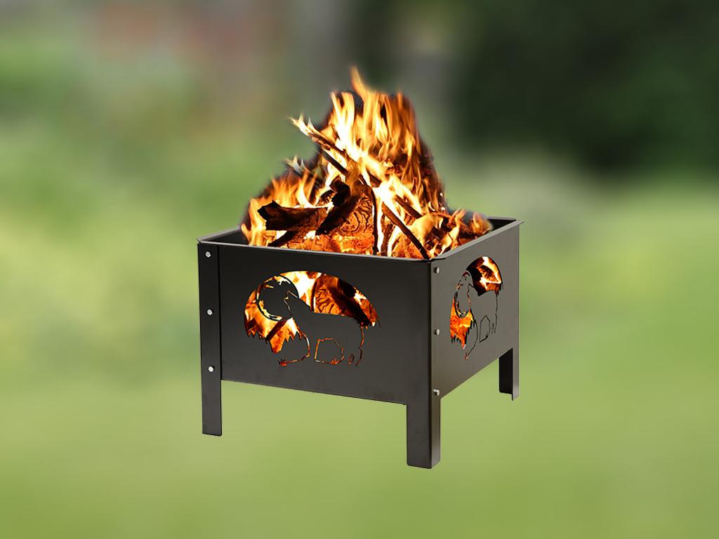 Fire Box Square Infocus Manufacturing