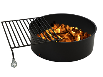 Fire Grill Open Infocus Manufacturing