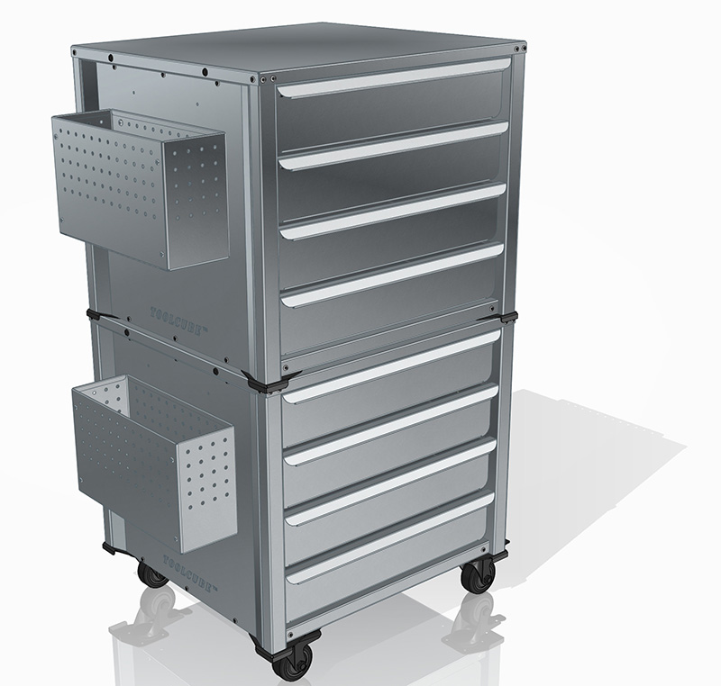 TOOLCUBE steel tool chest