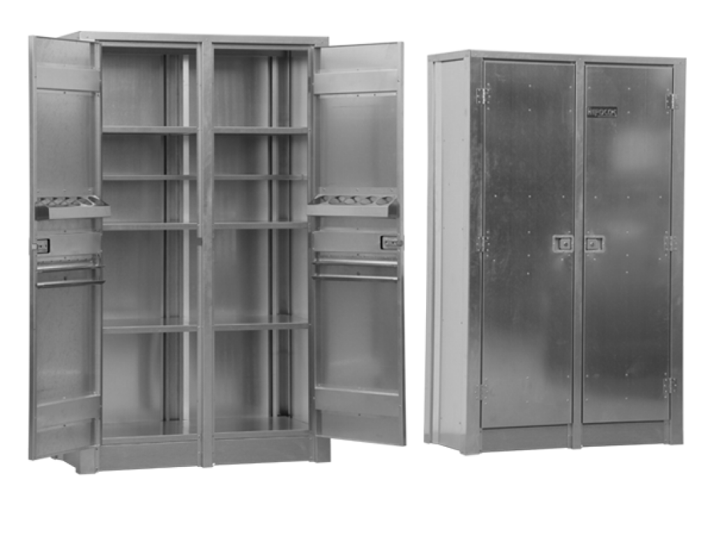 Single And Double Galvanized Steel Cabinets Infocus